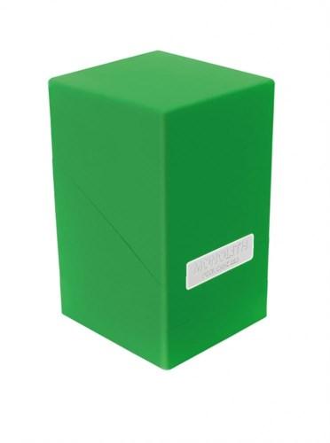 """Ultimate Guard - Коробочка """"Монолит"""" с отделением для кубиков зеленая UGD010237 010237"""