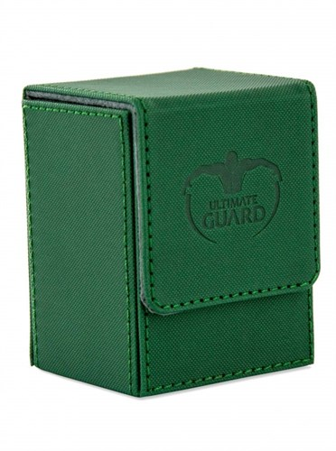 Ultimate Guard - Коробочка кожаная зеленая премиум UGD010219 010219