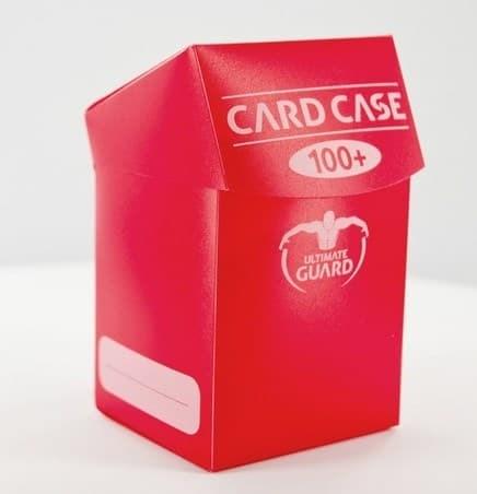Ultimate Guard - Коробочка 100+ красная UGD010084 010084