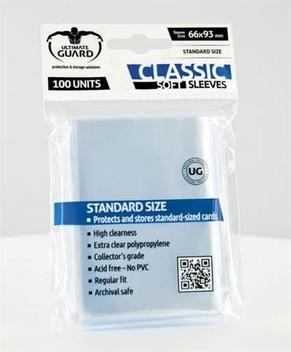 Ultimate Guard - Протекторы прозрачные 100 штук (классические) UGD010001 010001