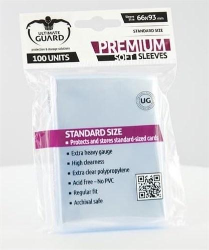 Ultimate Guard - Протекторы прозрачные 100 штук (премиум) UGD010051 010051
