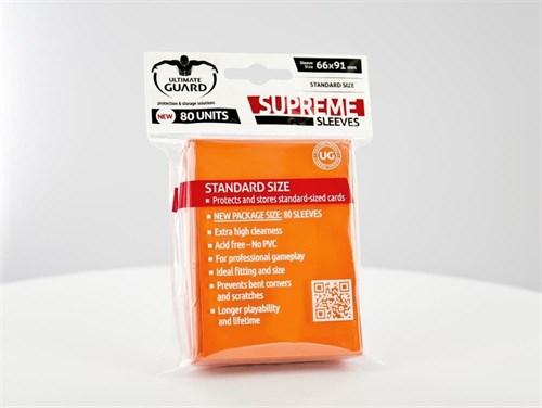 Ultimate Guard - Протекторы оранжевые 80 штук UGD010120 010120