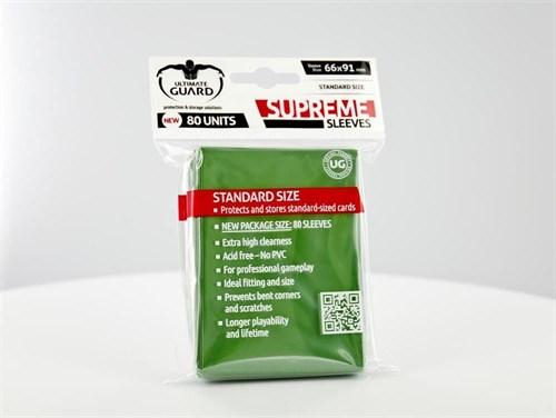 Ultimate Guard - Протекторы зеленые 80 штук UGD010118 010118