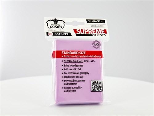Ultimate Guard - Протекторы розовые 80 штук UGD010121 010121