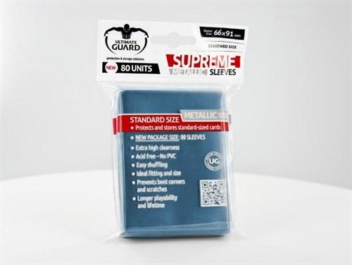 Ultimate Guard - Протекторы синий металлик 80 штук UGD010130 010130