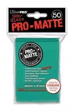 """Протекторы """"Ultra-Pro"""" PRO-MATTE (66мм*91мм, 50 шт.): водные 84151"""