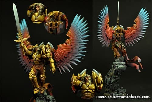 28mm SF Archangel #2 - фото 24744
