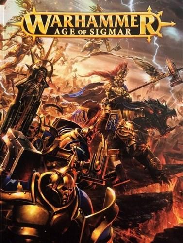 "Книга ""Warhammer: Age of Sigmar"" + Правила из стартера Молот Войны: Эпоха Сигмара (Warhammer: Age of Sigmar)"