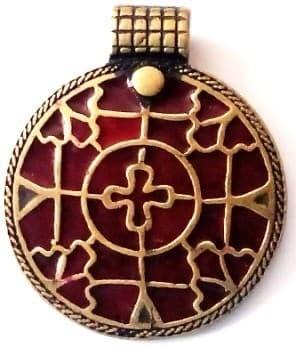 Реконструкция: Драгоценный крест (викинг)