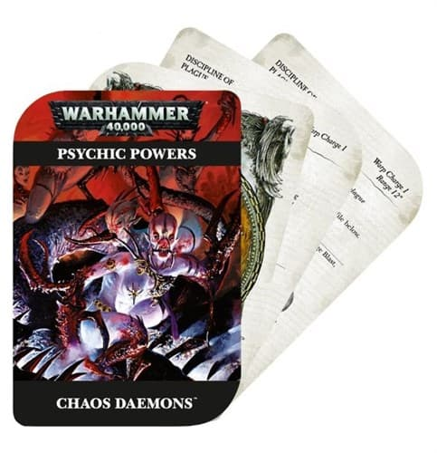 Psychic Powers: Chaos Daemons