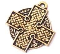 Кельтский крест (в круге)
