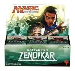 Battle for Zendikar: Дисплей бустеров (36 шт.) (Английский)