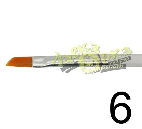 Кисть из синтетического волоса, ретушная № 6 J3636 3636