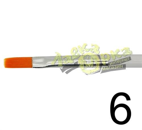 Кисть из синтетического волоса, плоская № 6 J3626 3626