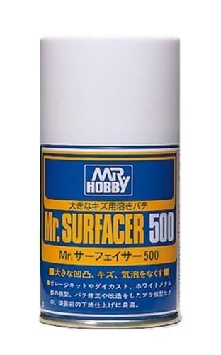 B-506  краска-грунтовка в металлических баллончиках т.м. MR.HOBBY  Mr.SURFACER 500 100мл B-506