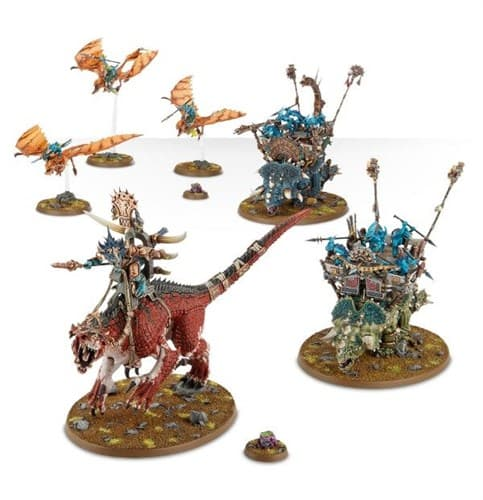 Seraphon Thunderbeast Host 88-99