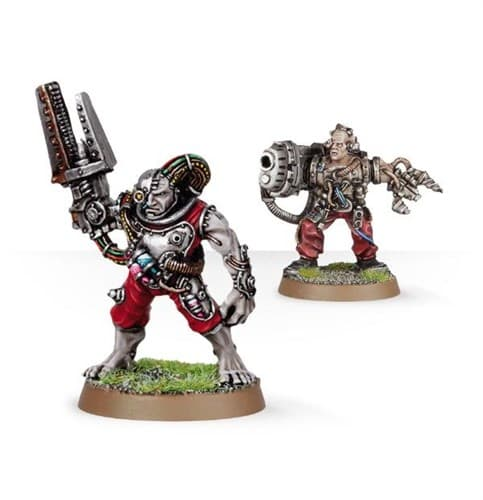 Servitors with Plasma Cannon - фото 27266
