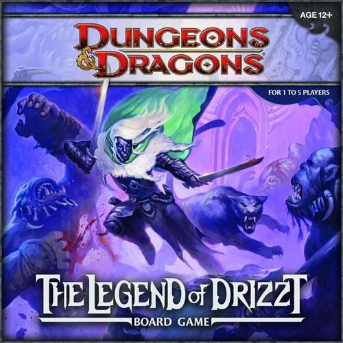 """Настольная игра: Подземелья и драконы: """"Легенда о Дзирте"""" (Legend of Drizzt) 621386"""