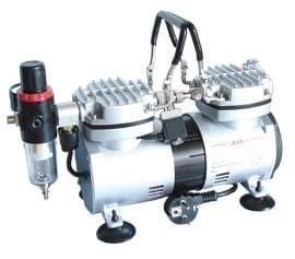 Компрессор 1205, с регулятором давления, автоматика, два режима работы, два цилиндра - фото 27781