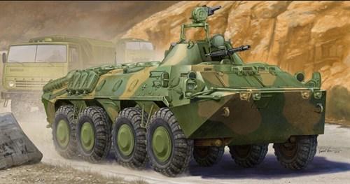 БТР-70 АПЦ в Афганистане (1:35) - фото 28202