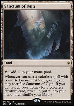 Святилище Уджина  Sanctum of Ugin - фото 28248