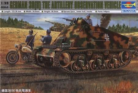 Танк German 38(H) Conductor voiture (1:35) - фото 28450