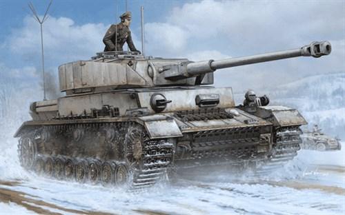 Танк немецкий Pz.Beob.Wg. IV Ausf.J (1:16) - фото 28456
