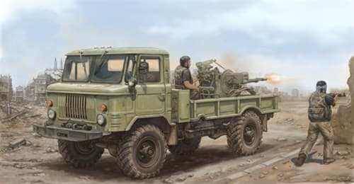 Russian 66 Light Truck With Zu-23-2  (1:35) - фото 28467