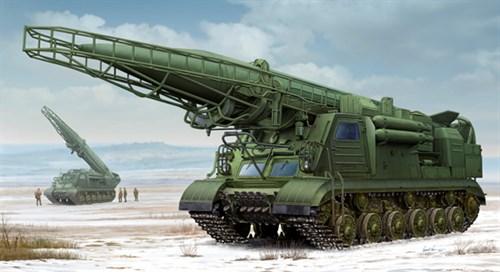 Пусковая установка 2П19 с баллистической ракетой 8К14 (1:35) - фото 28490