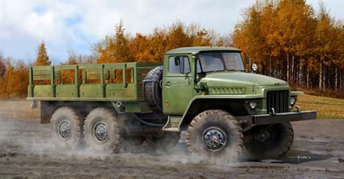 Автомобиль УРАЛ-375Д (1:35) - фото 28497