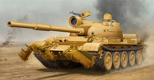 Танк Т-62 мод.1960 (Ирак) (1:35) - фото 28504
