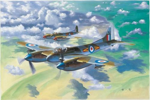 Самолёт De Havilland Hornet F.3 (1:48) - фото 28530