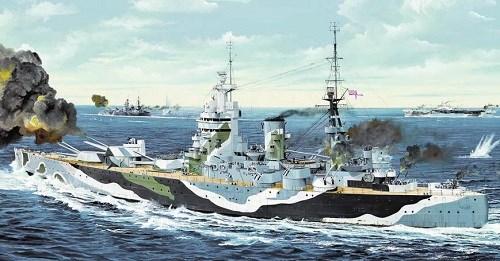 Корабль HMS Rodney (1:200) - фото 28532