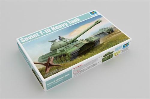 Танк советский Т-10 (1:35) - фото 28541
