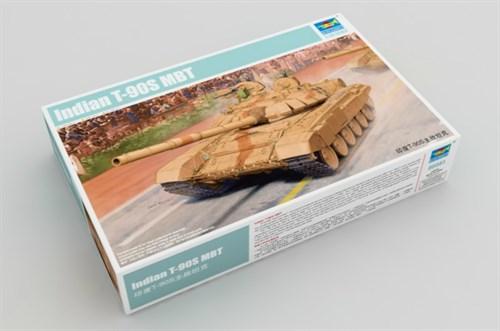 """Танк индийский Т-90С """"Бшихма"""" (1:35) - фото 28549"""