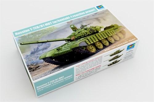 Танк Т-72Б (1:35) - фото 28566