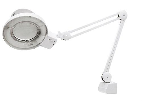 Лупа с подсветкой 3-х кратная, D 125 мм, со струбцинным креплением к столу//MATRIX - фото 28661