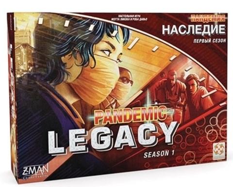 "Настольная игра ""Пандемия: Наследие (красная коробка) (PANDEMIC LEGACY RU RED) - фото 28762"