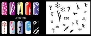 Трафорет для росписи ногтей - фото 28939