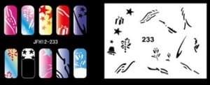 Трафарет для росписи ногтей - фото 28940