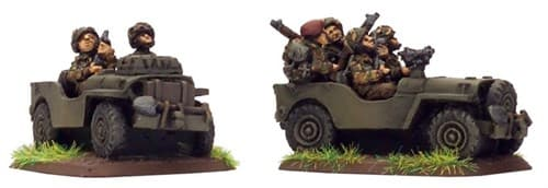 British Airborne Jeep (x2 resin) - фото 29369