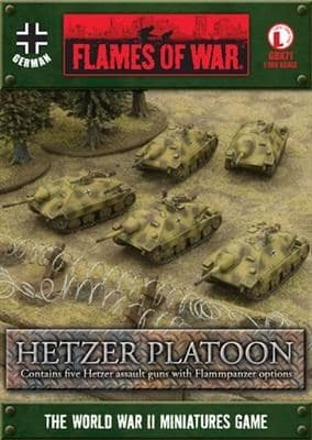 Hetzer Platoon (with Flammpanzer option) - фото 29431