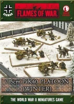 7.5cm PaK 40 Platoon (winter)* - фото 29433