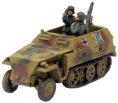 SDkfz 250/7D 8cm - фото 29478