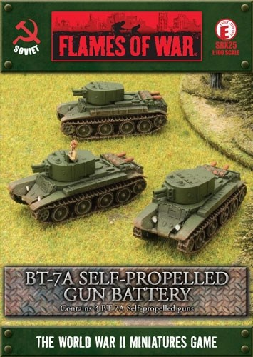 BT-7A Self-propelled Gun Battery - фото 29576
