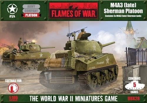 M4A3 (late) Sherman Platoon* - фото 29626