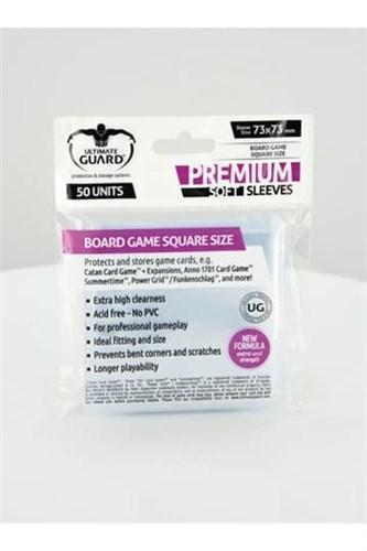 Ultimate Guard - Протекторы для настольных игр (73х73) 50 штук - фото 29799