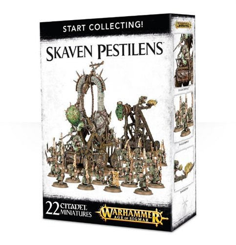 Start Collecting! Skaven Pestilens - фото 29961