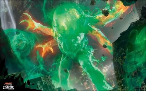 """Игровое поле """"Ultra-Pro"""" (магическое): рисунок """"Омнат, Очаг Ярости"""" - фото 29979"""