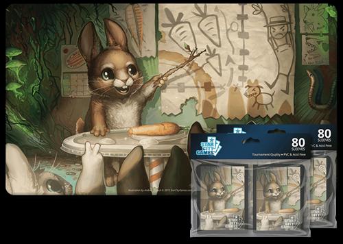 Комплект (Коврик + Протекторы): Bunny - фото 30006